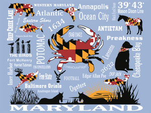Maryland's Best Heritage 550 piece Jigsaw Puzzle