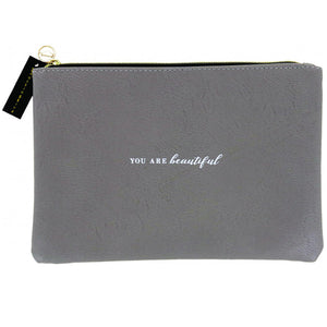 You Are Beautiful Make Up Bag