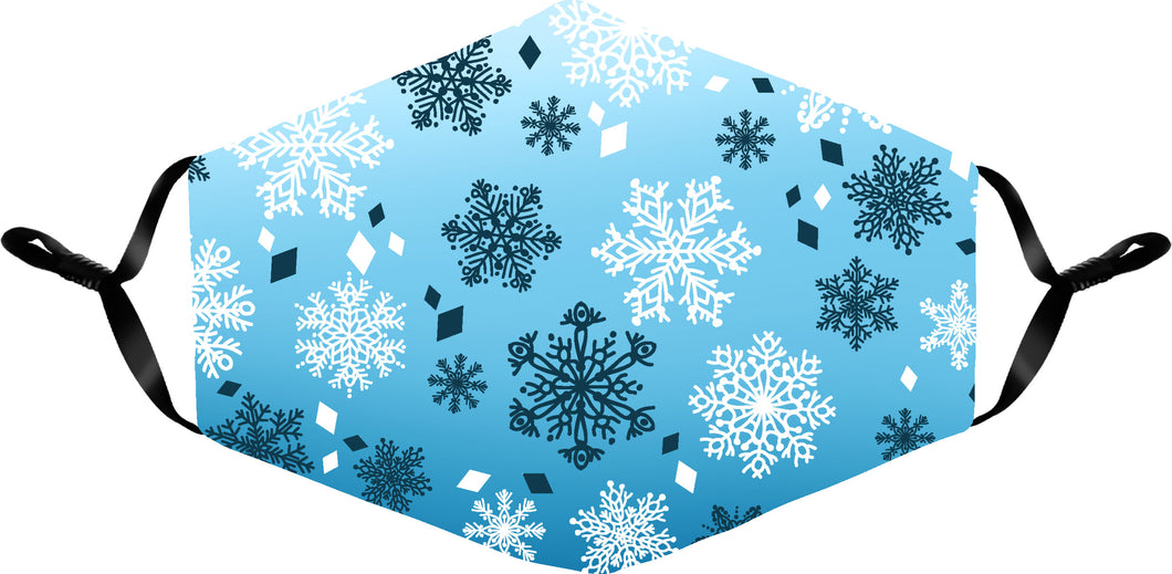 SNOWFLAKES HOLIDAY MASK