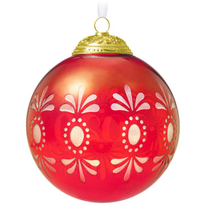2020 Christmas Commemorative Glass Ball Ornament