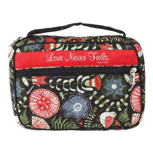 Love Never Fails Quilted Bible Cover