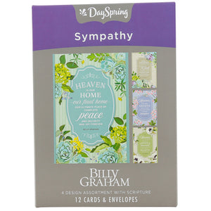 DaySpring, Billy Graham Sympathy Boxed Cards, 12 Cards with Envelopes