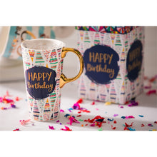 Load image into Gallery viewer, HAPPY BIRTHDAY 17oz. Ceramic Travel Mug