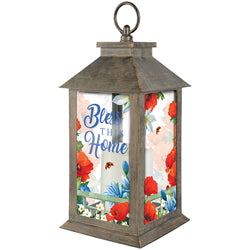 """Colorful Garden"" Lantern"