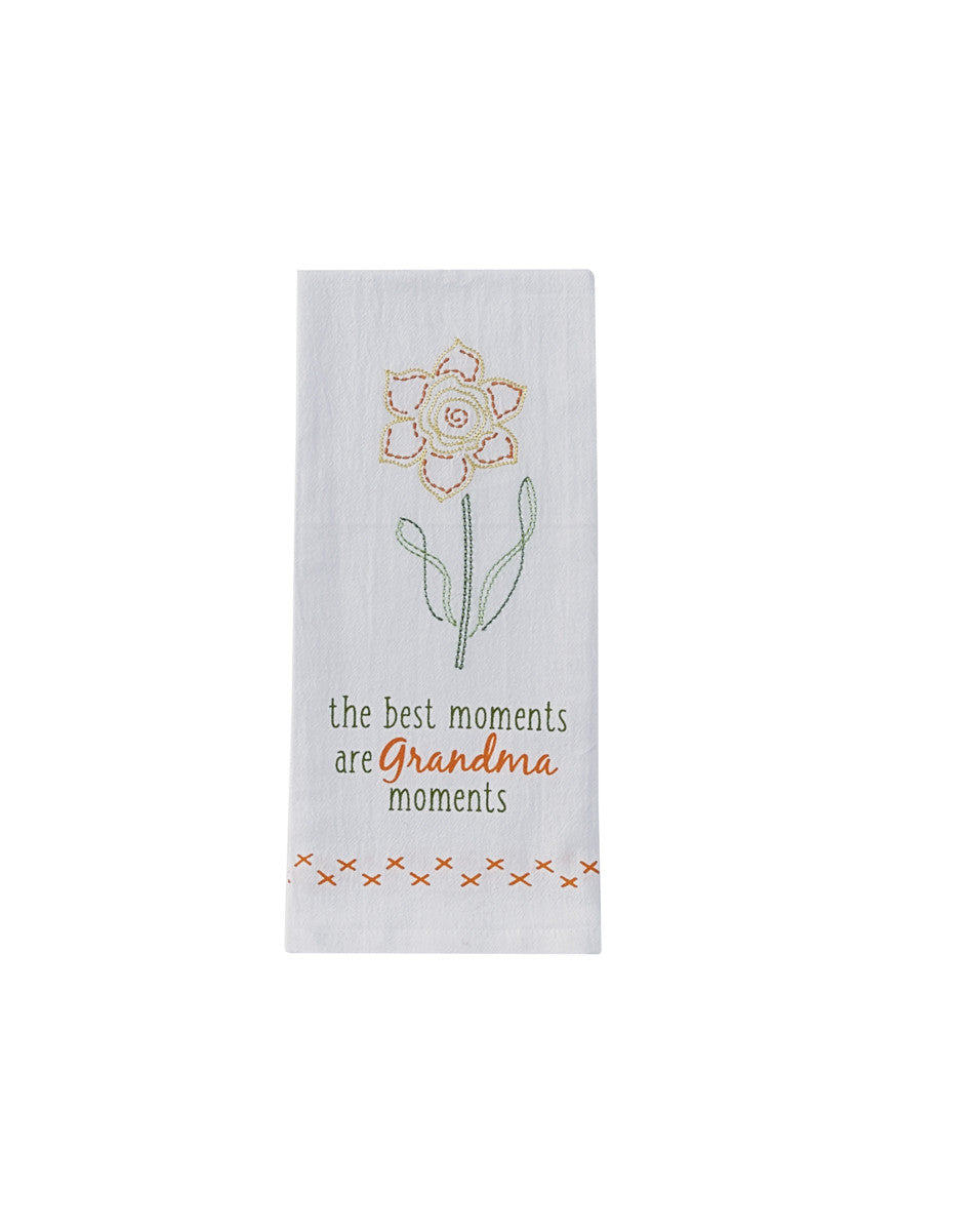 Grandma Moments Dish Towel