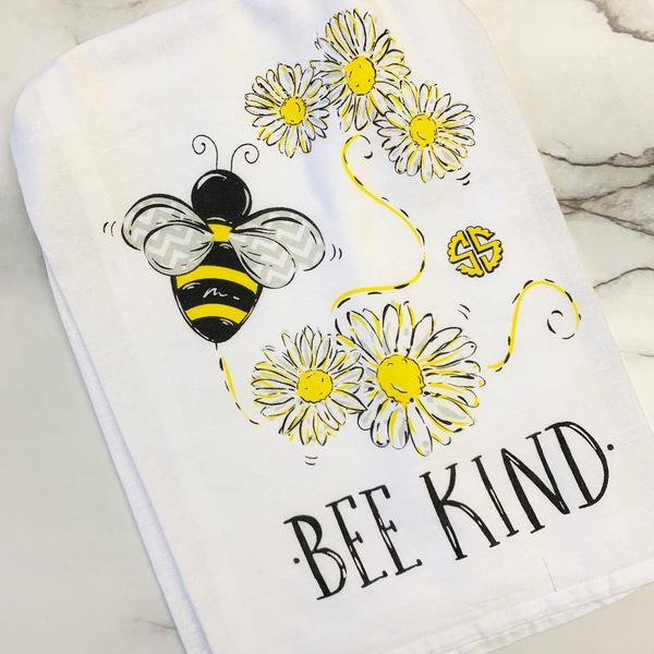 Simply Southern Bee Kind Kitchen Towel