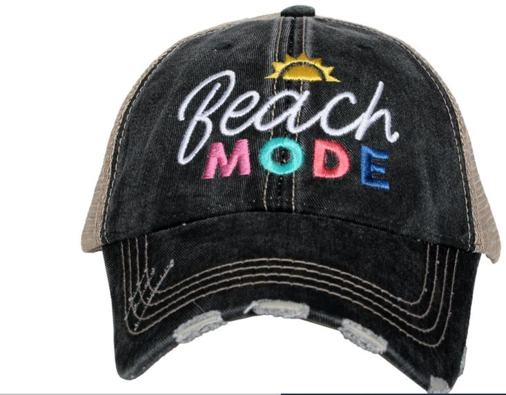 KATYDID BEACH MODE TRUCKER HAT