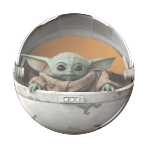 The Child Pod Baby Yoda Premium PopSocket