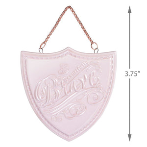 Beautifully Brave Porcelain Ornament