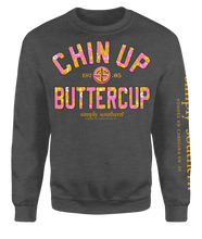 Load image into Gallery viewer, SWEATSHIRT- CHIN UP BUTTERCUP SIMPLY SOUTHERN