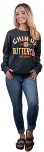 SWEATSHIRT- CHIN UP BUTTERCUP SIMPLY SOUTHERN