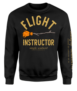 SWEATSHIRT Long Sleeve FLIGHT INSTRUCTOR