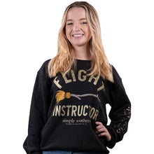 Load image into Gallery viewer, SWEATSHIRT Long Sleeve FLIGHT INSTRUCTOR