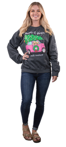 SWEATSHIRT- MERRY & BRIGHT SIMPLY SOUTHERN