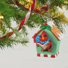 Load image into Gallery viewer, Caroling Cardinal Musical Ornament