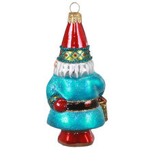Load image into Gallery viewer, Charming Gnome Blown Glass Ornament