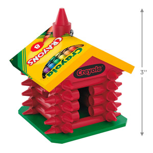 Crayola® Colorful Schoolhouse Ornament