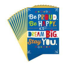 Load image into Gallery viewer, Dream Big Graduation Cards, Pack of 10