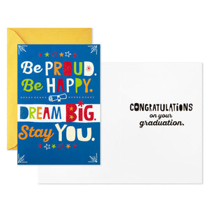 Dream Big Graduation Cards, Pack of 10