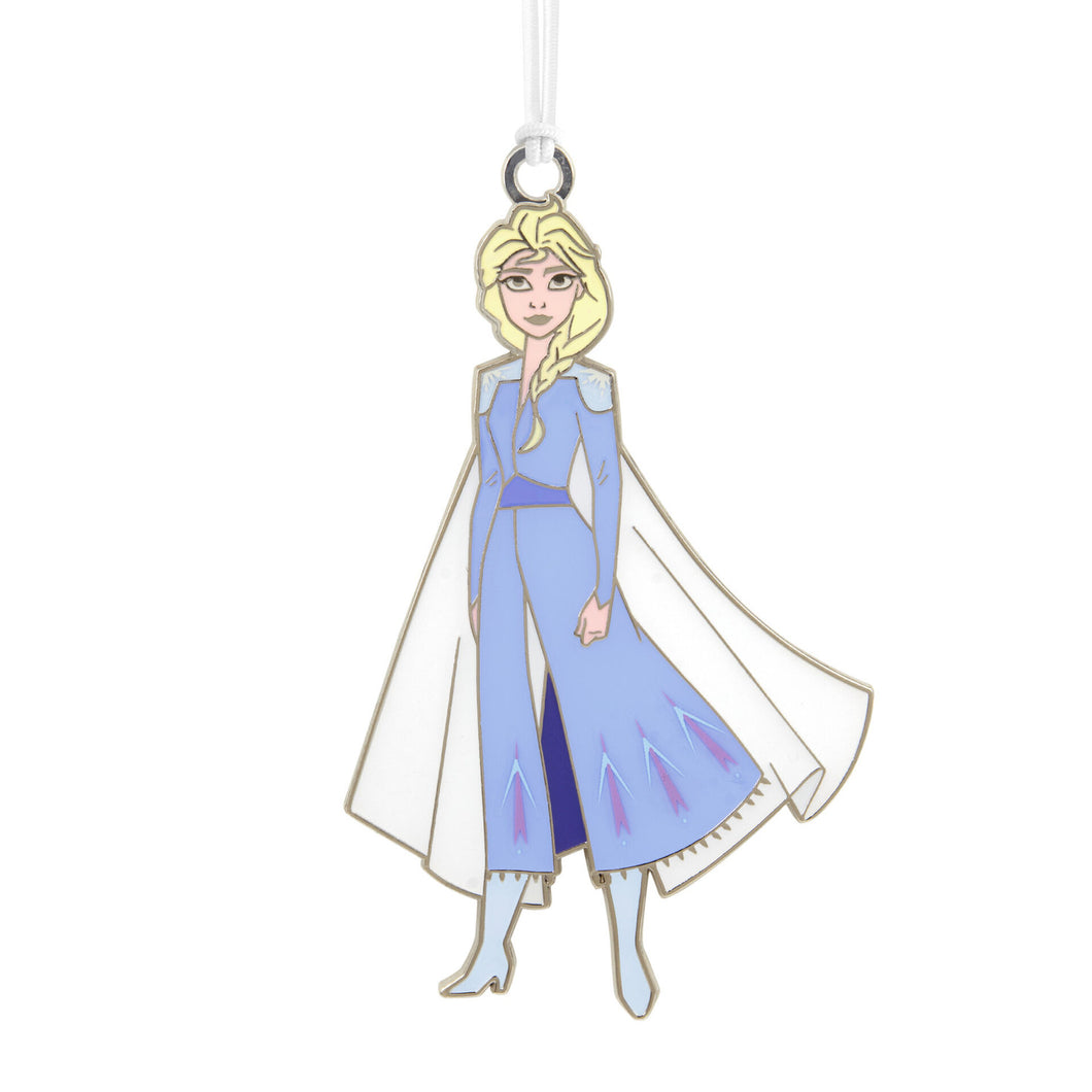Disney Frozen 2 Elsa Metal Hallmark Ornament