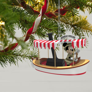 Disney Jungle Cruise Mickey Mouse Set Sail for Adventure! Ornament