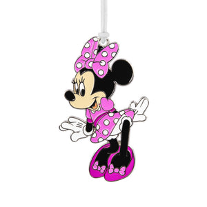 Disney Minnie Mouse Metal Hallmark Ornament
