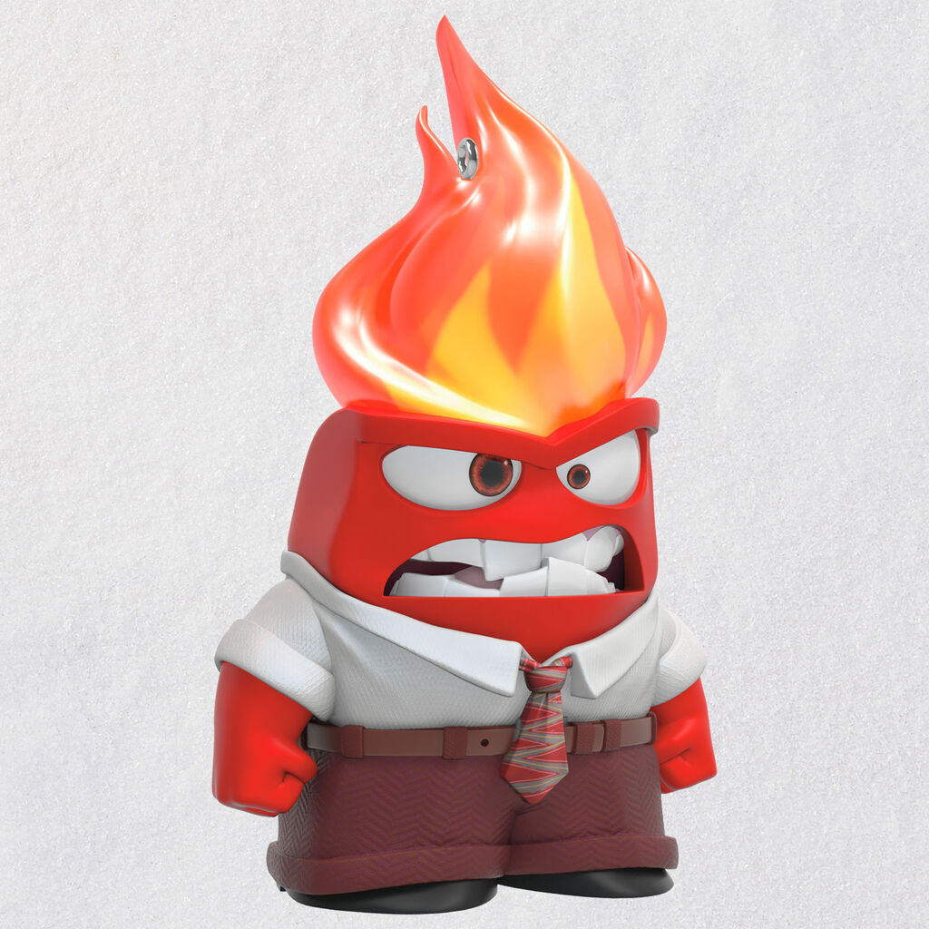 Disney/Pixar Inside Out Anger Ornament With Light