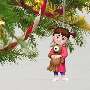 Disney/Pixar Monsters, Inc. Boo and Little Mikey Ornament