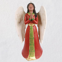 Load image into Gallery viewer, Exultant Angel African-American Angel Ornament