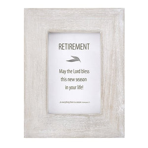 "Retirement 7"" x 9"" Terra Photo Frame"