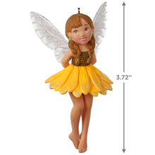 Load image into Gallery viewer, Fairy Messengers Sunflower Fairy Ornament