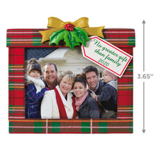 Load image into Gallery viewer, Family's the Greatest Gift 2020 Photo Frame Ornament