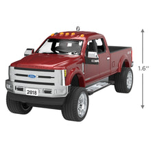 Load image into Gallery viewer, 2018 Ford Super Duty F-350 Platinum 2020 Metal Ornament