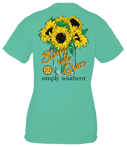 Bloom with Grace Simply Southern Short Sleeve T-Shirt