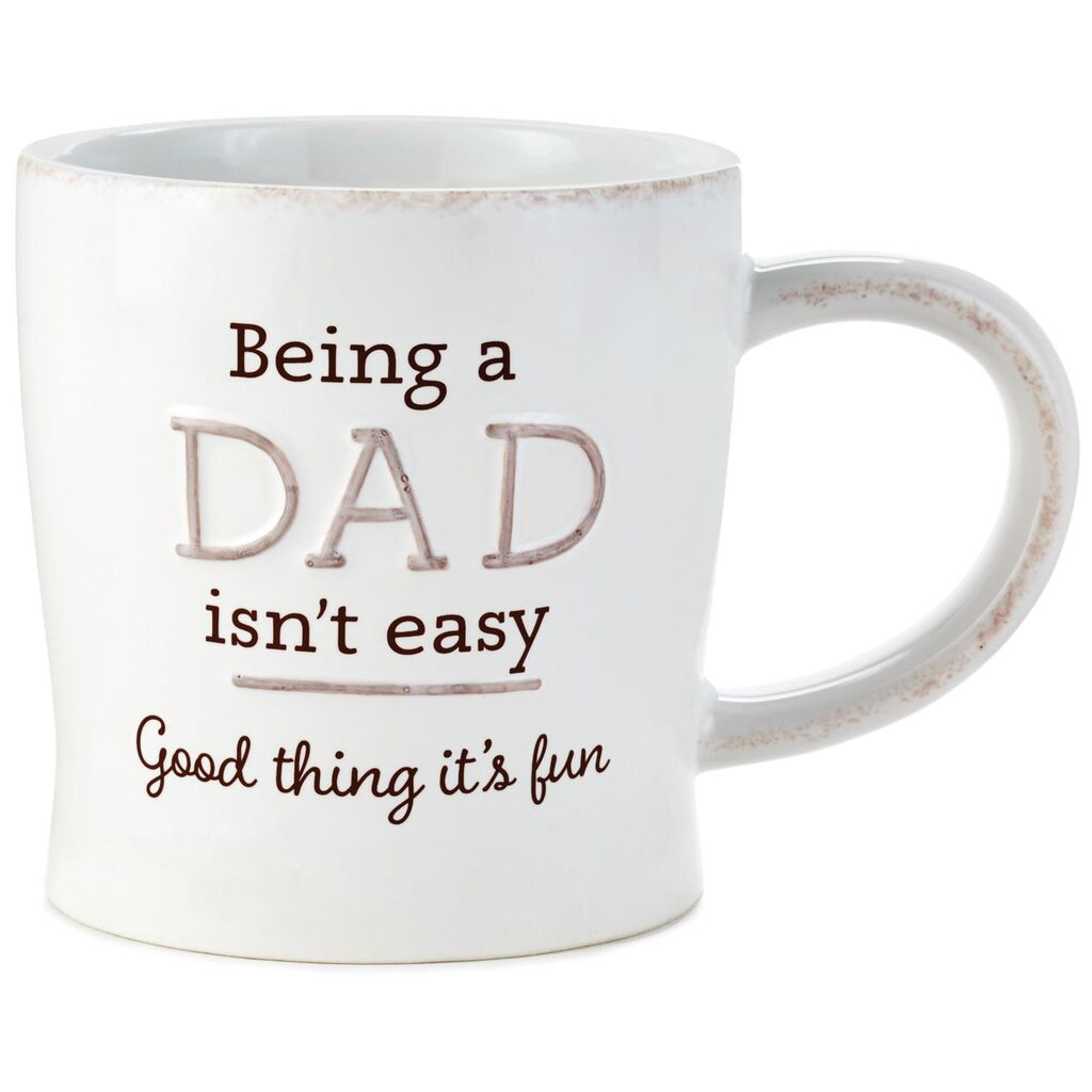 Good Thing Being a Dad Is Fun Ceramic Mug