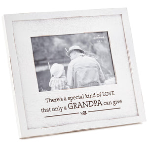 Grandpa Special Kind of Love Wood Picture Frame, 8.75x8