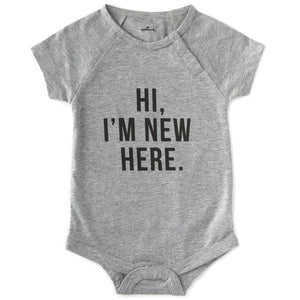 Hi I'm New Here Infant Bodysuit, 0–6 Months
