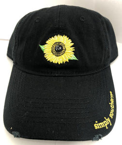 Sunflower Simply Southern Hat