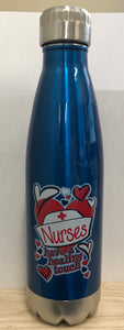 Nurses Have a Healing Touch Water Bottle