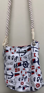 Nautical Canvas Crossbody
