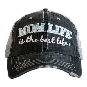 MOM LIFE IS THE BEST LIFE TRUCKER HATS