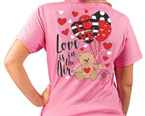 Simply Southern LOVE ...Love Is In the Air Short Sleeve T-Shirt