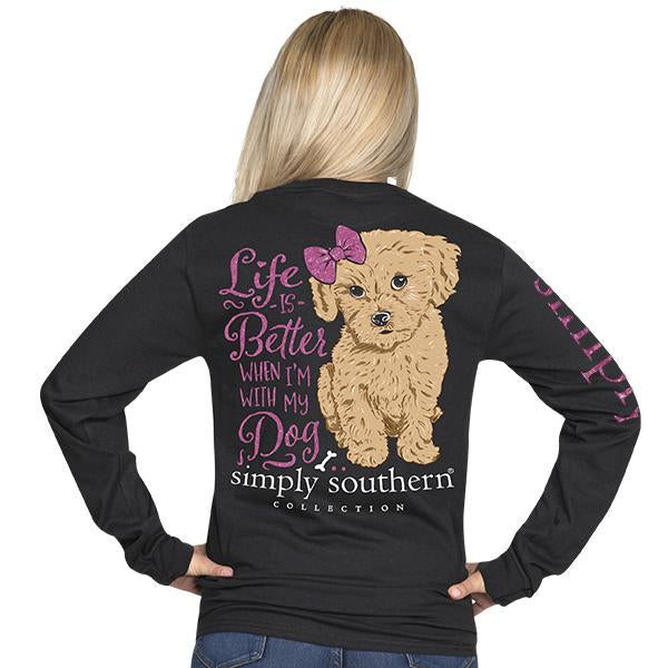 Simply Southern Life is Better Long Sleeve T-Shirt