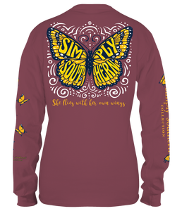 Long Sleeve BUTTERFLY