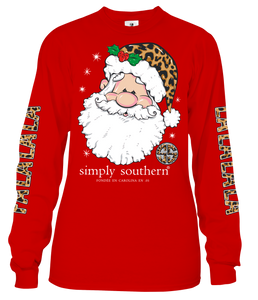 Long Sleeve FALALALALA Red Simply Southern