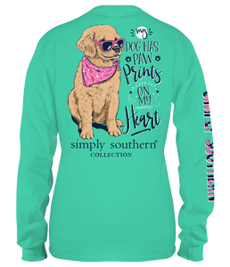 Long Sleeve PAWPRINTS