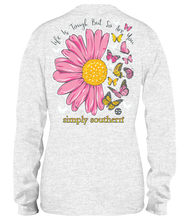 Load image into Gallery viewer, Simply Southern LIFE IS TOUGH BUT SO ARE YOU Long Sleeve T-Shirt