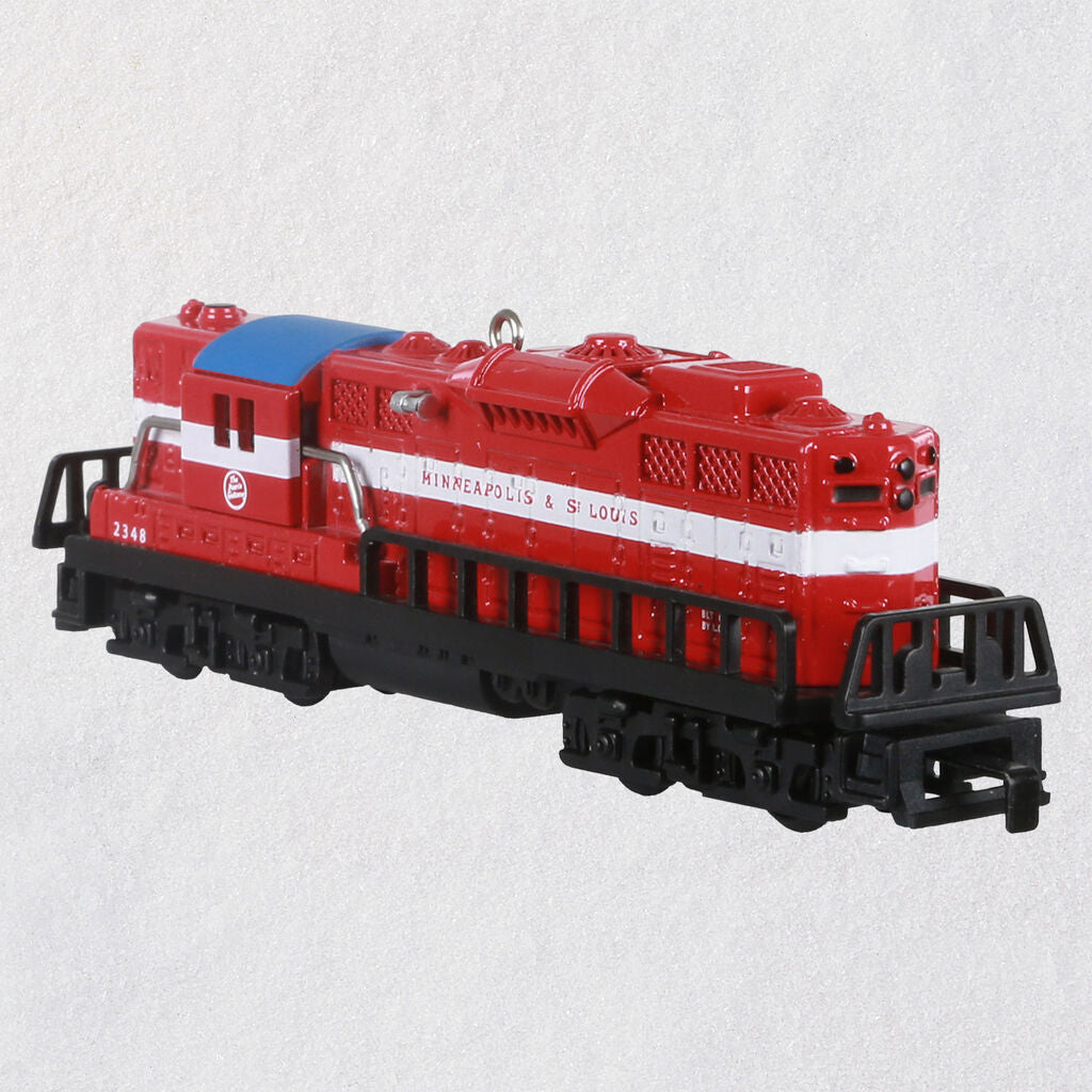 Lionel® Trains 2348 Minneapolis & St. Louis GP-9 Diesel Metal Ornament