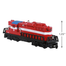 Load image into Gallery viewer, Lionel® Trains 2348 Minneapolis & St. Louis GP-9 Diesel Metal Ornament