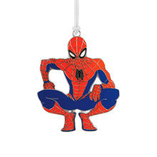 Load image into Gallery viewer, Marvel Spider-Man Metal Hallmark Ornament
